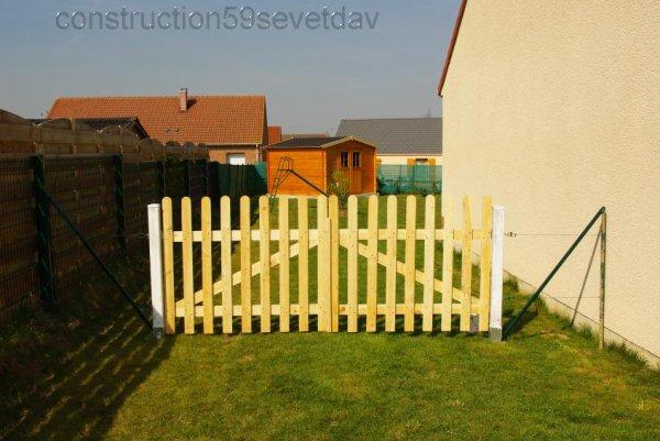 Barriere 25 03 2011 blog de construction59 sev et dav - Barriere pour jardin ...